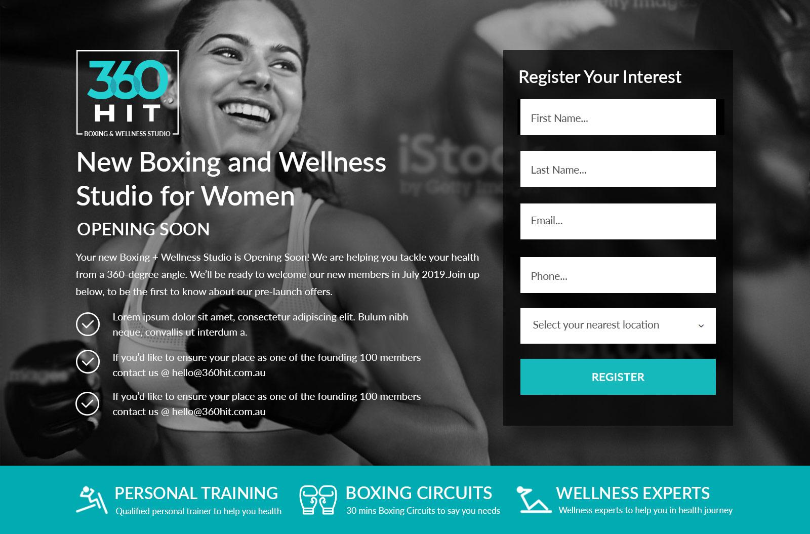 360 hit - boxing and wellness studio